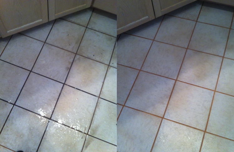 professional kitchen title cleaning
